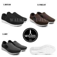 Sepatu Pria Casual Slop Sport Walkers Fujin Slip On Santai Murah