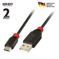 LINDY #41885 Premium USB 2.0 Cable type C/A, 0.5m