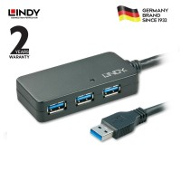 LINDY #43159 USB 3.0 Active Extension Pro Hub, 10m