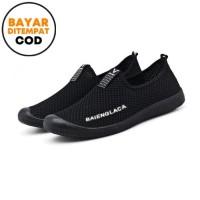 Techdoo Sepatu Sneakers Pria Sepatu Slip-on Sepatu Import MR209