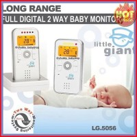 Full Digital 2 Way Baby Monitor Little giant