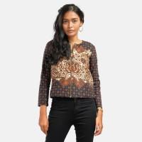 Batik Pria Tampan -BZPJ ZIP ACC PSG TRUNTUM SIDOMUKTI - Cokelat, S