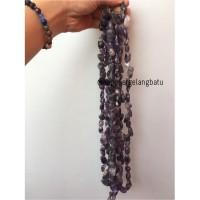 bongkah rough Batu amethyst kecubung ungu amethys kalimantan akik 30mm