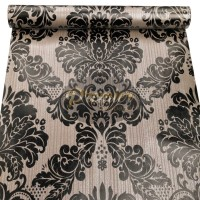 Batik Hitam Wallpaper| 45CM x 10M