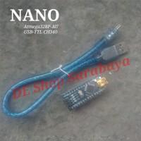 Nano Pro Atmega328P-AU CH340 USB TTL Arduino Murah
