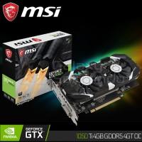 VGA MSI GeForce GTX 1050 Ti 4GT OC