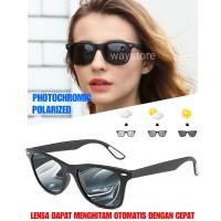 kacamata sunglass fotosensitif berubah warna pria wanita termurah