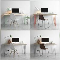 Meja Kantor 110x60 x tinggi 60