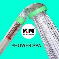 Ionic Shower SPA Filter Terapi Natural Fresh Super Shower Head Ionizer