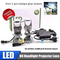 Lampu LED H4 merek IPHCAR Xpander Avanza Brio Mini Projie Cutoff 5500K