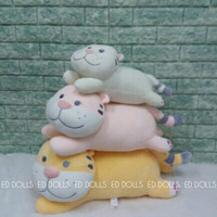 BONEKA BANTAL TIGER SOFT CUSHION PILLOW L