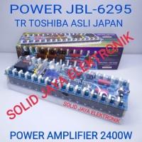 KIT POWER JBL 6295 JBL-6295 JBL6295 2400W TR TOSHIBA ASLI JAPAN AMPLI