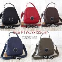 CB21055 Tas Wanita Import Chibao Polos 3in1 size Medium