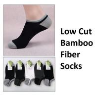 ZK - KK013 Kaos Kaki Pria Low Cut Bambu Fiber Socks Bamboo Grosir