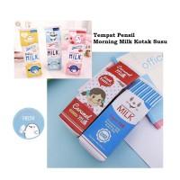 ZK - TP0038 Tempat Pensil Morning Milk Kotak Susu Grosir