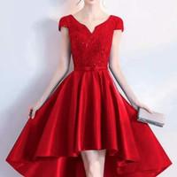 gaun pesta mini dress