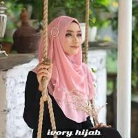 Jilbab hijab kerudung pastan Ivory hijab