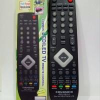 REMOTE TV MULTI UNTUK TV POLYTRON LCD LED GS-L10011 elektronik top