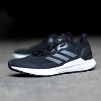 Sepatu Sneaker Sport ADIDAS Solar Blaze Black List Black Sole White Or