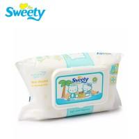 Sweety 7140 - Tissu Basah Swetty Non Alkohol 84 sheet