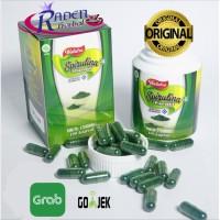 Walatra Spirulina plantesis - ORIGINAL masker wajah kapsul ekstrak sup