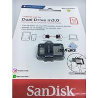 Flashdisk Sandisk Ultra Dual Drive OTG 32gb m3.0 Usb 3.0 (FOTO ASLI)