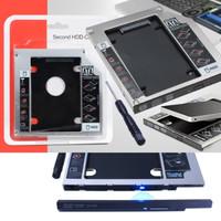 HDD Harddisk Second Caddy Slim Case 9.5mm SSD Sata For Laptop
