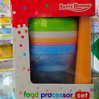 Lusty Bunny Feeding Set Food Maker Perasan Jeruk Alat Pembuat Bubur