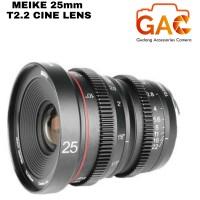 lensa MEIKE 25mm T2.2 CINEMA LENS for FUJI FX mount