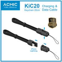ACMIC KiC20 Kabel Data Charger 20cm iPhone Lightning Fast Charging