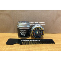 POMADE CHIEF MINI TRAVEL SIZE BARBERNAUT SPACE CLAY STRONG HOLD