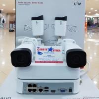 PAKET CCTV NVR KIT UNIVIEW 4CAMERA 1080P FULL HD LENGKAP HARDISK 2TB