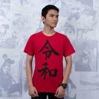 T-Shirt Distro Kaos Kanji Jepang REIWA