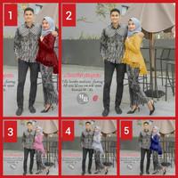 couple batik, batik wisuda kebaya modern, batik sarimbit kondangan