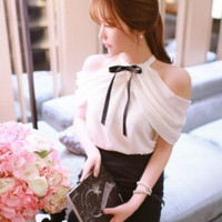 Baju Korea Wanita Atasan Korea Wanita Blouse Formal Wanita Chiffon