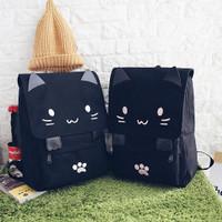 Tas Ransel Motif Kucing Tas Ransel Sekolah Tas Kuliah Backpack