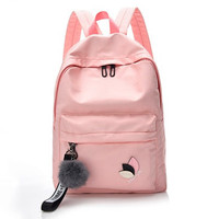Tas Ransel Wanita Canvas Backpack Wanita