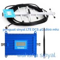 penguat sinyal booster GSM LTE 4G 1800 MHZ untuk Telkomsel XL indosat