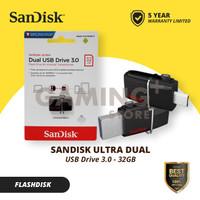 SanDisk OTG 32GB USB 3.0 /FLASHDISK Dual Drive SDDD2 32-GB