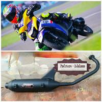 Termurah Knalpot Racing Bobokan - Model Standar Yamaha Mio M3 - Fino