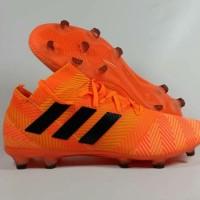 Sepatu Bola Adidas Nemeziz 18 1 Orange FG TERLARIS