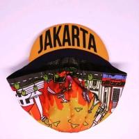 Jakarta Cycling cap by LumpAt