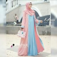 Pakaian Baju Busana Muslim Wanita MECCA Dress Gamis Syari Terbaru