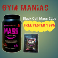 Black Cell Mass 2 Lb Lbs 2lbs 2lb weight Gainer Hemat