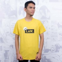 T-Shirt Distro Kaos Anime Jepang LAW ONE PIECE
