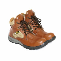 Sepatu Boots Pria Outdoor Tactical Delta Safety Original Fordza 087 - Tan, 40