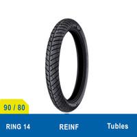 Ban Depan Upsize Motor 90/80 - 14 Michelin City Grip Pro Tubeless
