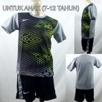 Setelan Baju/Kaos Sepak Bola/Futsal Dri-Fit Print Kids/Anak Nike 2
