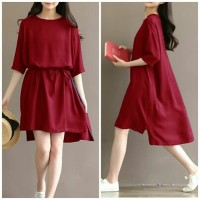 Promo Atasan Wanita / Blouse Wanita Twiscont Merah Lea Red Terbaru