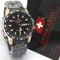 jam tangan pria cowok swis army original